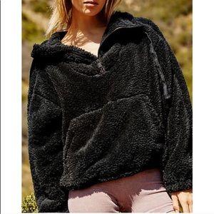 NWT Free People Fleece Big Sky Pullover Sweatshirt
